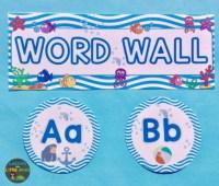 Beach Theme Classroom Decor Ideas & First Day of School ...