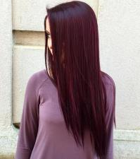 50 Shades of Burgundy Hair: Dark Burgundy, Maroon