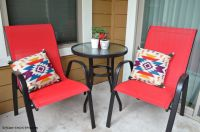 Small Patio Decorating Ideas On A Budget - Kitchen Concoctions