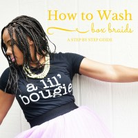 How to Wash Box Braids