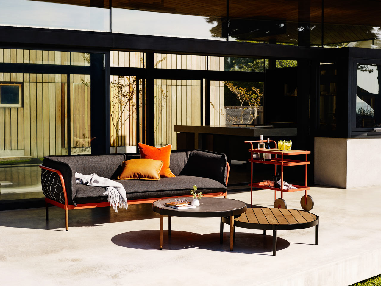 Milk Decoration Axel Vervoordt Trace The Latest Outdoor Lounge Collection From Tait