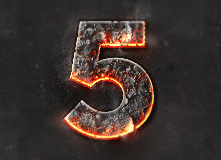 I Letter 3d Wallpapers Chrome Amp Fire Gothic Medieval Layer Styles Fx By Giallo
