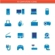 Download Blue Computers Device Icons from GraphicRiver