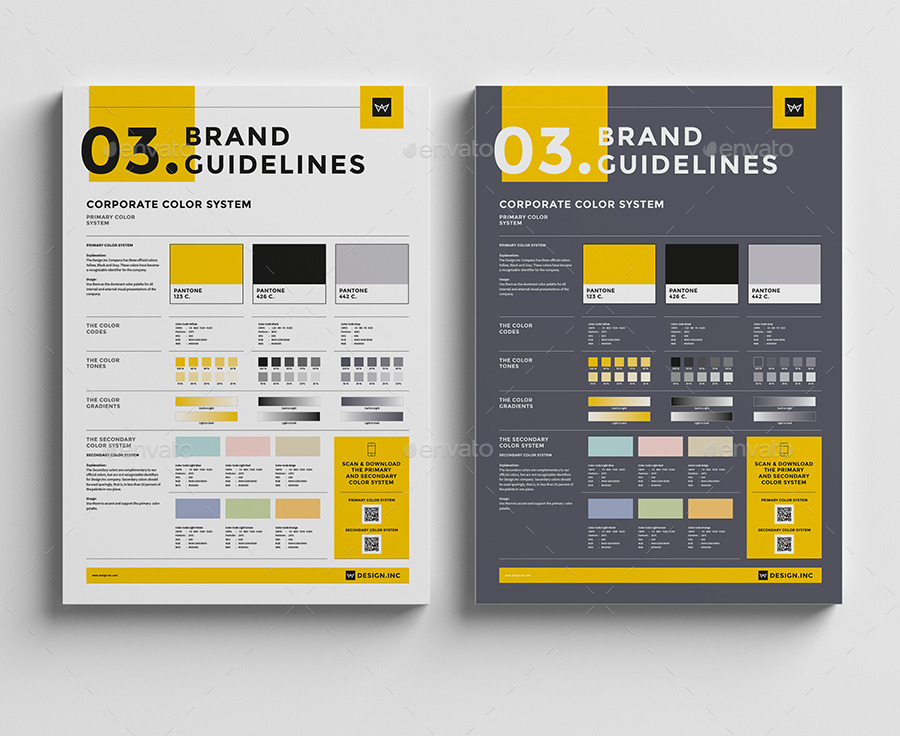 06_previewjpg 900×736 pixels Brand Guidelines Pinterest - instruction manual template