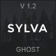 Download Sylva - Responsive Minimal Ghost Theme from ThemeForest