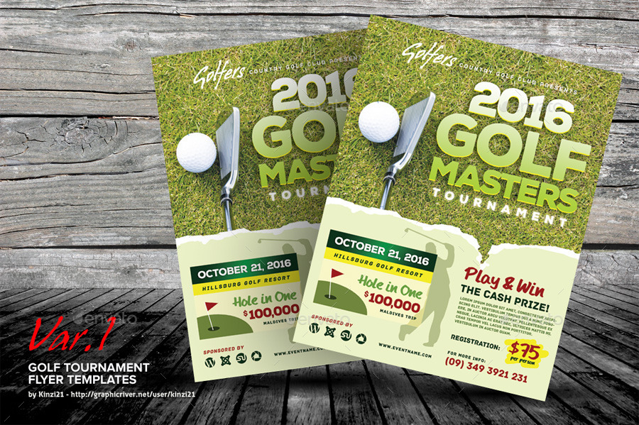 Golf Brochure Template Dtk Templates - golf tournament flyer template