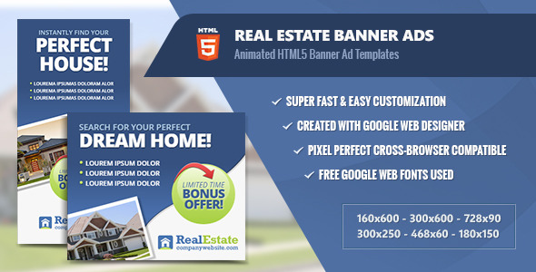 HTML5 Ad Templates from CodeCanyon (Page 36)