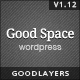 Download Good Space - Responsive Minimal WP Theme from ThemeForest