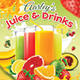 Download Fruit Juice Menu from GraphicRiver