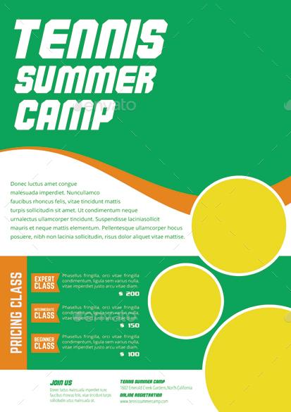 camp flyer template free - Apmayssconstruction