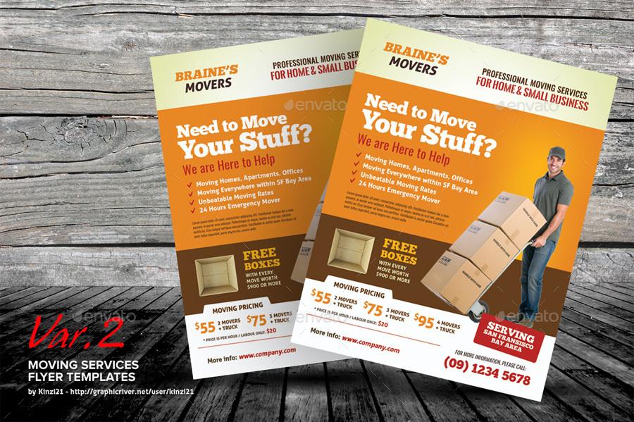 moving company flyer - Militarybralicious