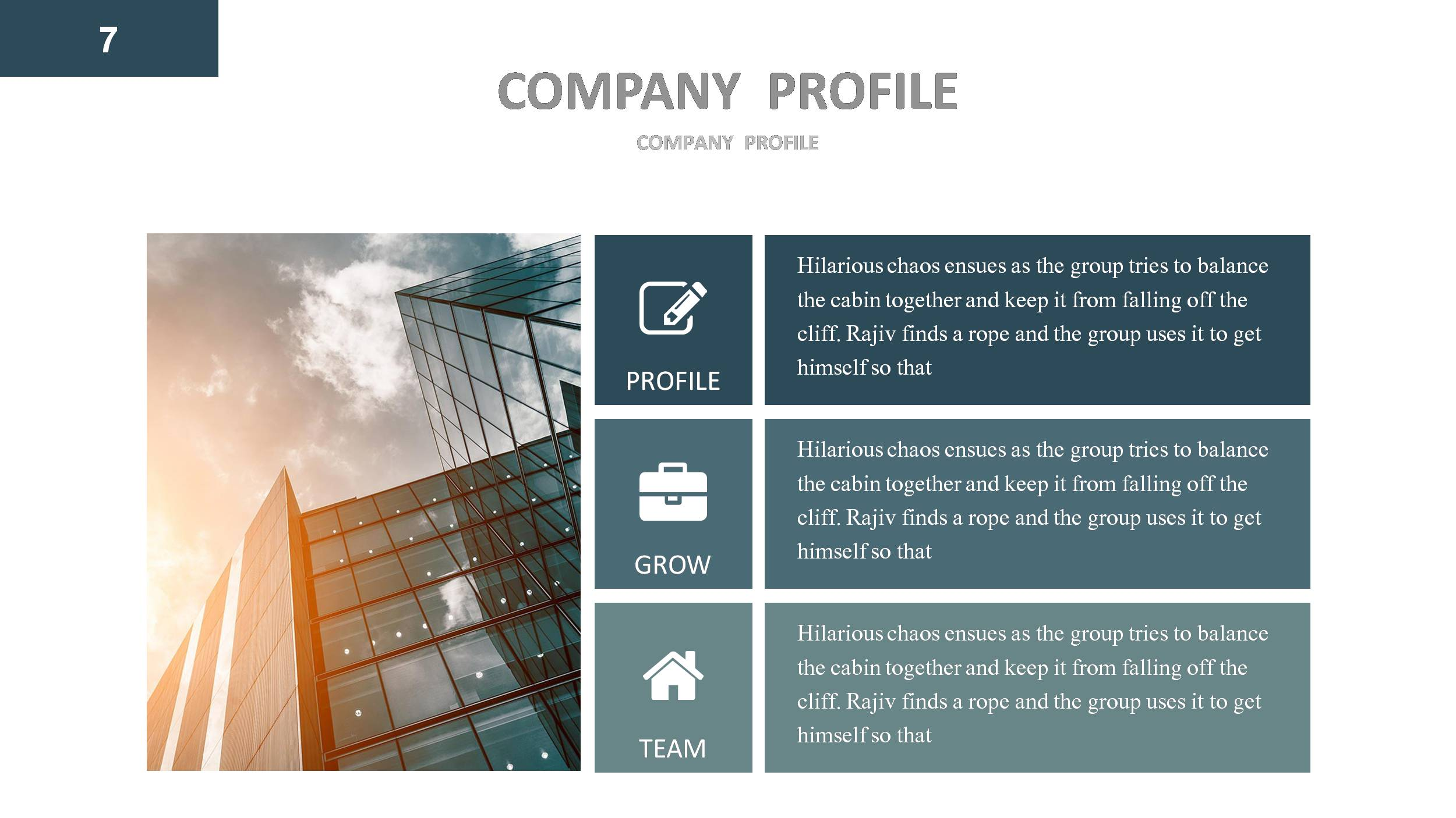 Company Profile Powerpoint Template By Jafardesigns Company Profile Powerpoint Presentation Template By