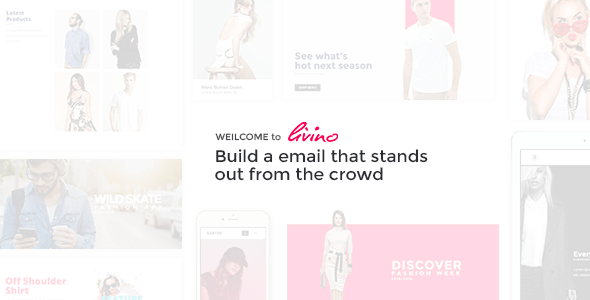 Livino Responsive Email Template Bootstrapdrive