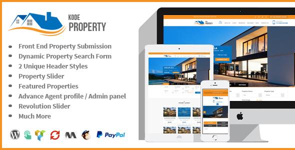 Kode Property Listing - Real Estate WordPress Theme