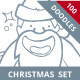 Download Christmas Hand Drawn Doodles from GraphicRiver