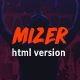 Download Mizer - Musicians, Deejays, Singers, Bands HTML template from ThemeForest
