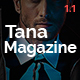 Download Magazine Tana - Newspaper Music Movie & Fashion, 8 in 1 Magazine Theme from ThemeForest
