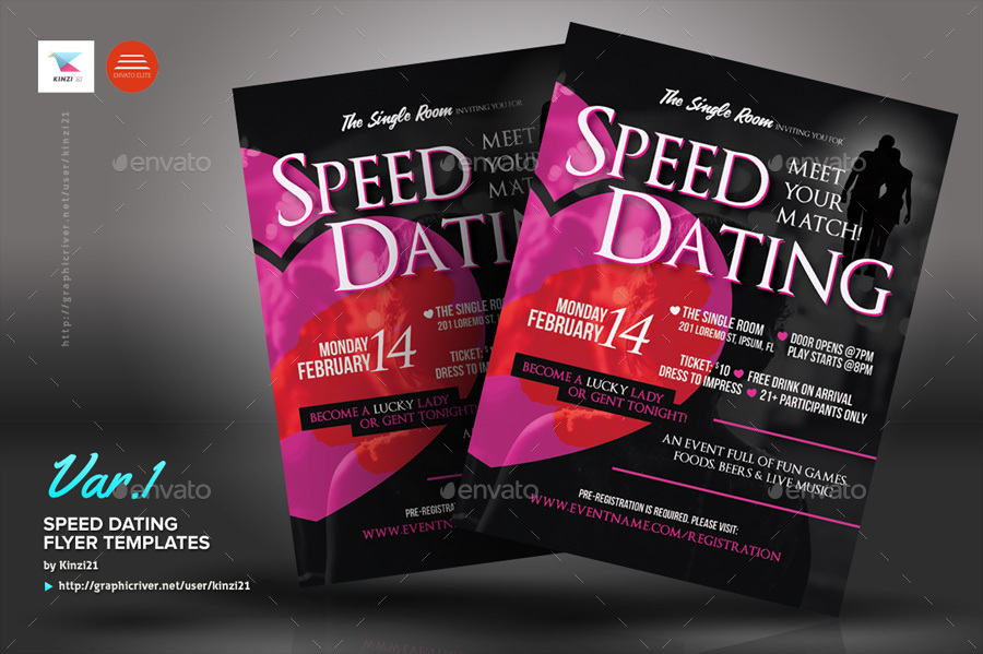 Free speed dating flyer templates - pravcru - free meet and greet flyer template