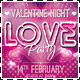 Download Valentine Night - Love Party Flyer from GraphicRiver