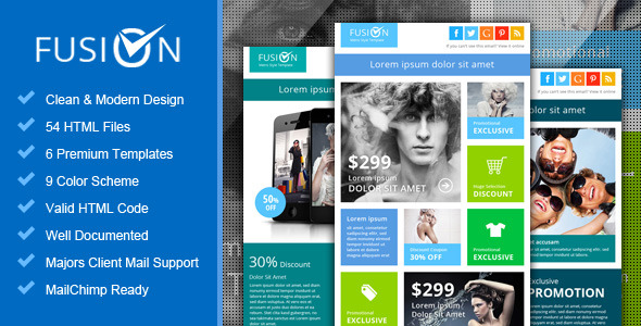 Piscesmail - Email Newsletter Template by pophonic ThemeForest - outlook newsletter template
