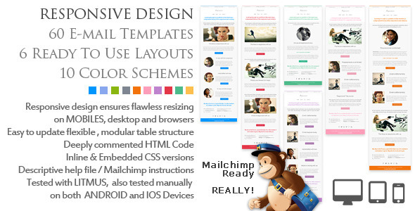 All themes in One Download Resposensive - Responsive Email Templates