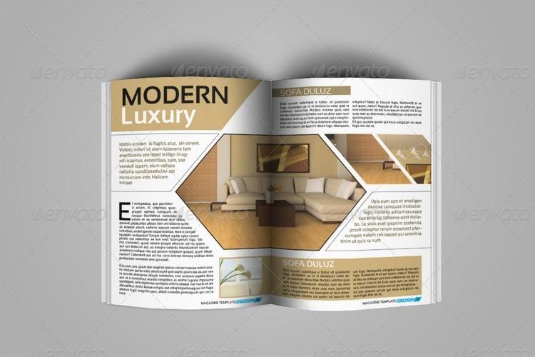 magazine design layout templates