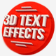 Download 15 Various 3D Text Effects for Photoshop - Pack from GraphicRiver