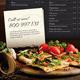 Download Restaurant Menu Flyer from GraphicRiver