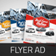 Download Automotive Car Sale Rental Flyer Ad from GraphicRiver