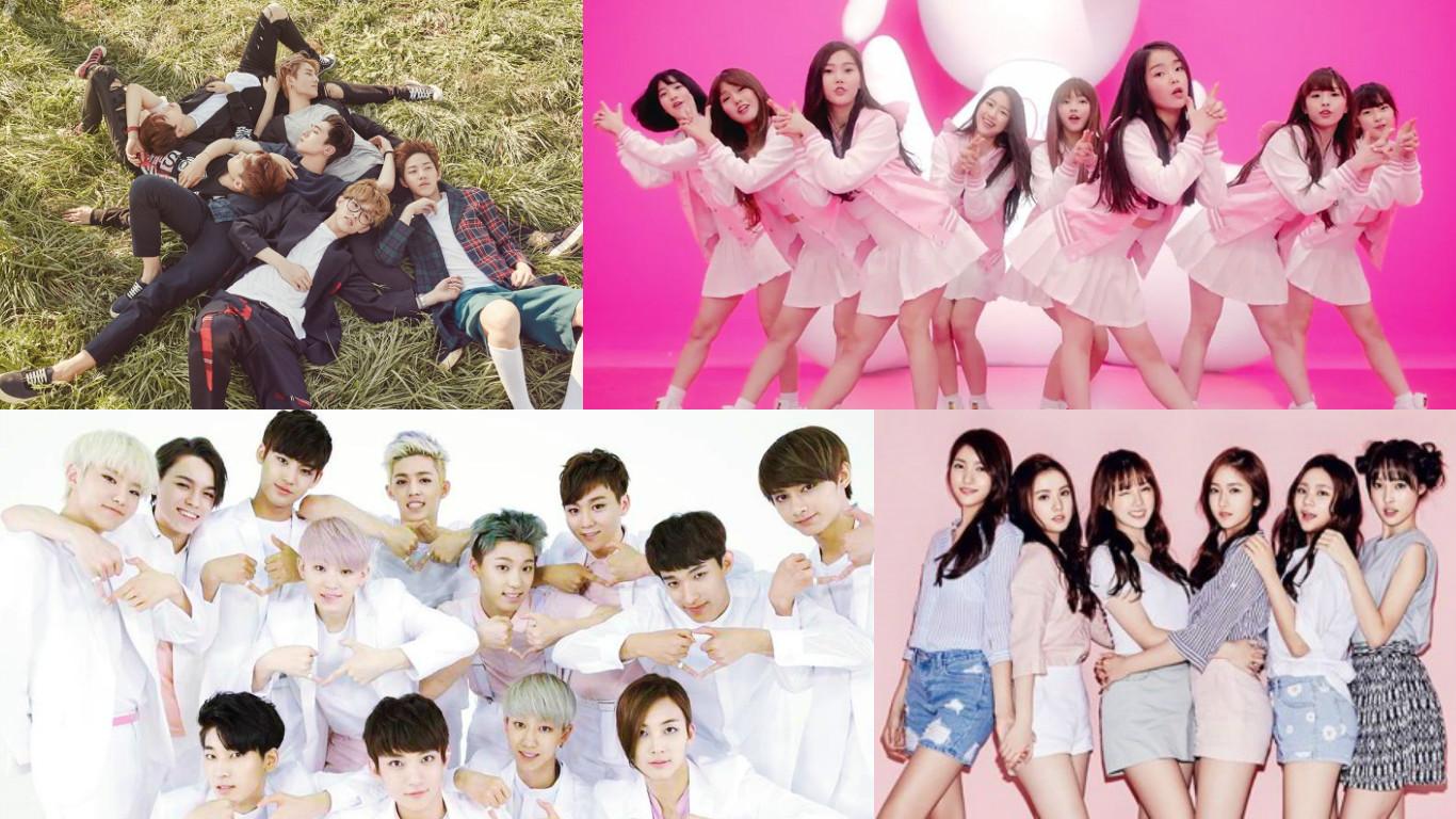 Wallpaper Girl Boy Friend Fuse Tv Looks At Top K Pop Rookie Groups Of 2015 Soompi