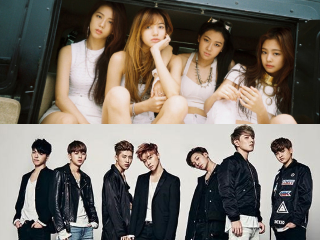 Fall Out Boy Symbol Wallpaper Blackpink And Ikon S Logo Combination Will Leave You