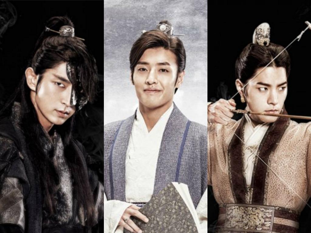 Ji Chang Wook Hd Wallpaper Co Stars Lee Joon Gi Kang Ha Neul And Hong Jong Hyun To