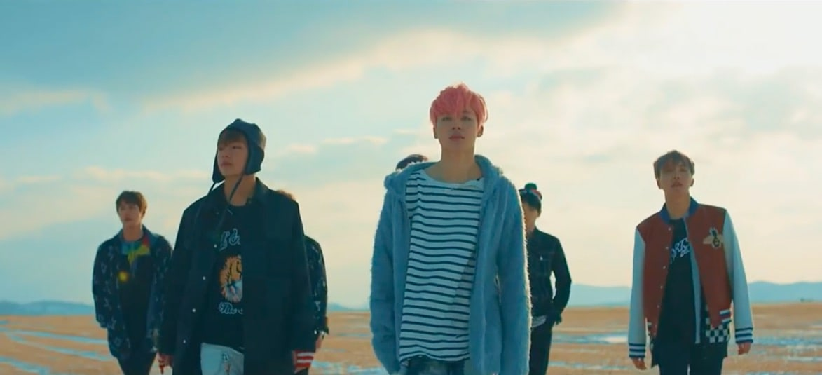 Bts Hd Wallpaper Desktop Bts Quot Spring Day Quot Becomes Their 7th Mv To Hit 100 Million