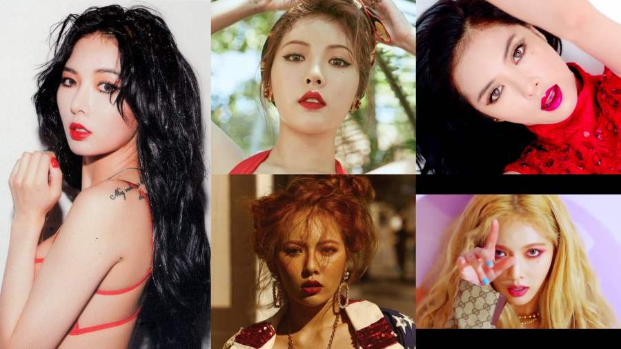 Bold And Beautiful: 11 Of HyunA\u0027s Most Iconic Looks