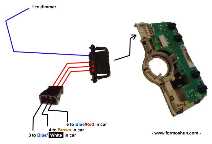 W8 interior Light Fitting Instructions - Formoshun