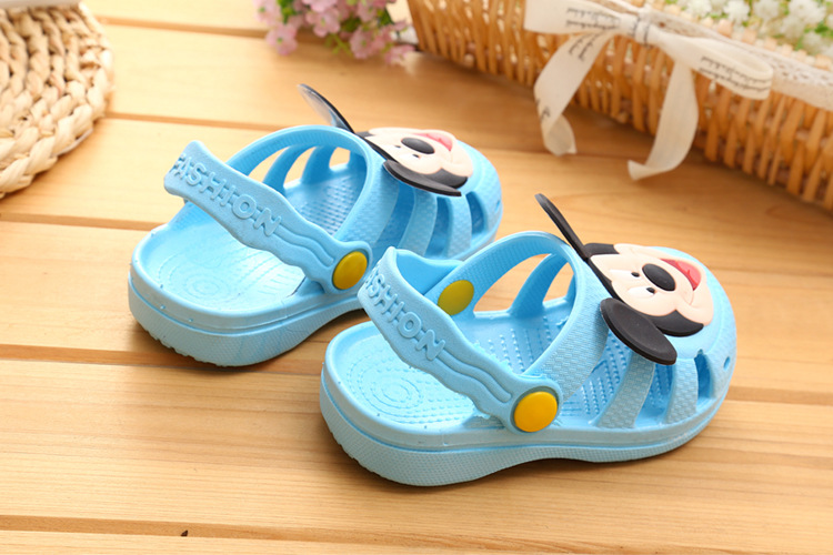 14 19 Size Mickey Sky Blue Clogs 0092 Store