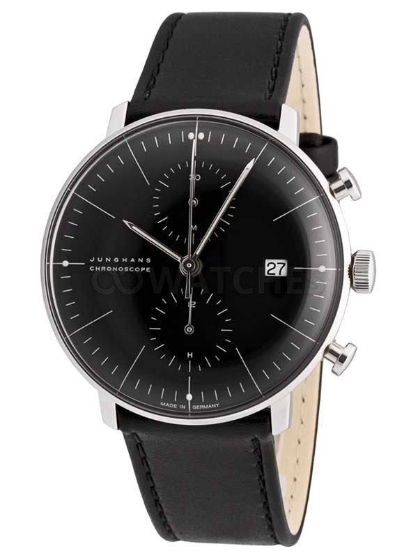 Junghans Herrenuhr Junghans Max Bill Chronoscope 0274601.00 - Gents Watch