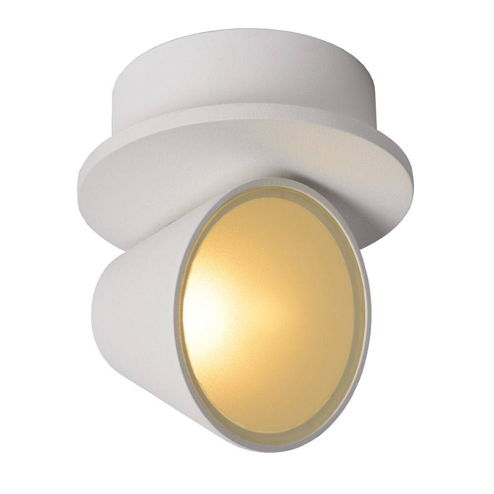 Applique Murale Spot Applique Murale Spot Led Baz Blanc 23945 06 31 Lucide