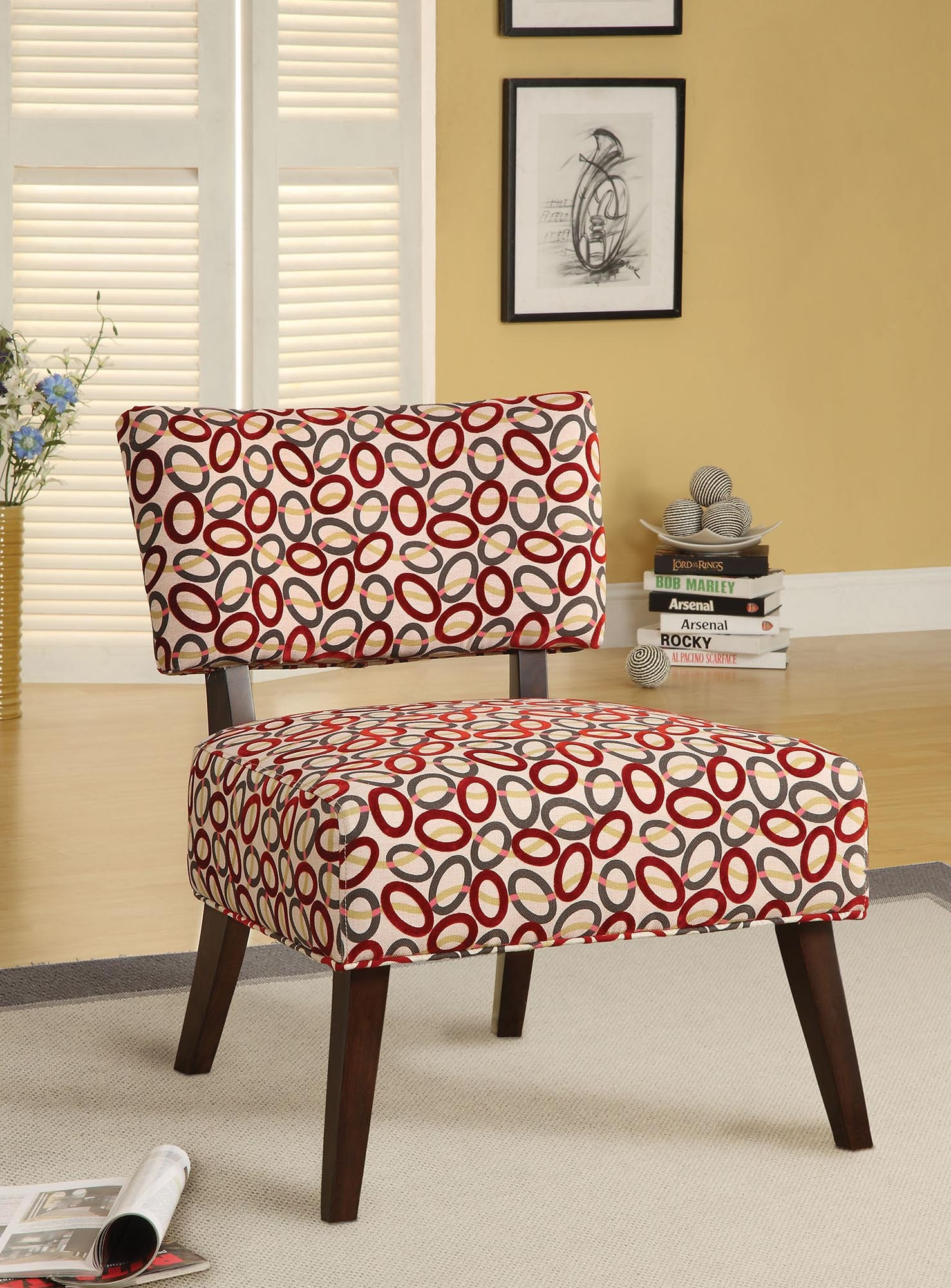 Red Accents Furniture Clearance Center Accent Chairs