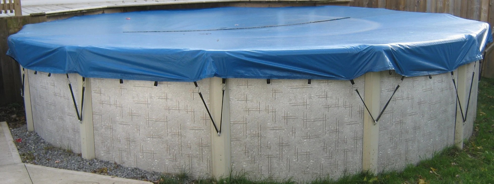 Above Ground Pool Winter Cover Arctic Blue Covers Above Ground Eliminator