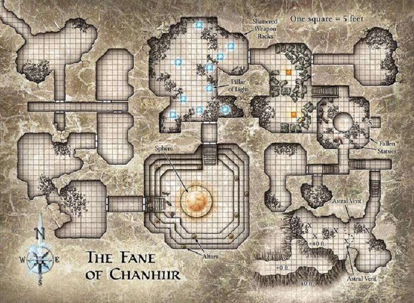 Map: Fane of Chanhiir