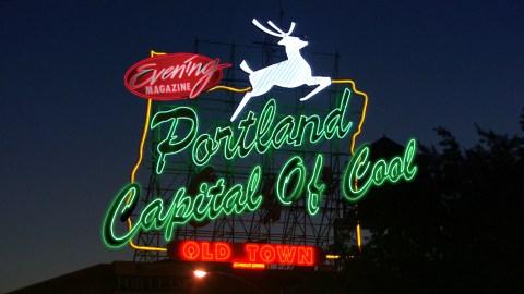 Portland Cool Title