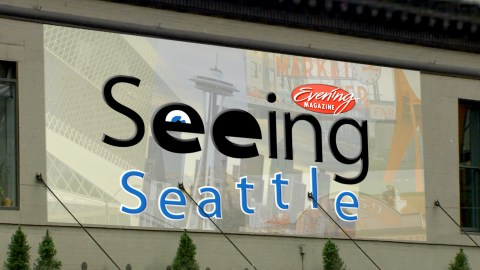 """Animated open for """"Seeing Seattle"""" segment of Evening Magazine. Illustrator, After Effects."""