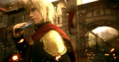Final Fantasy Type-0 HD Ace Character Cards CG Wallpaper