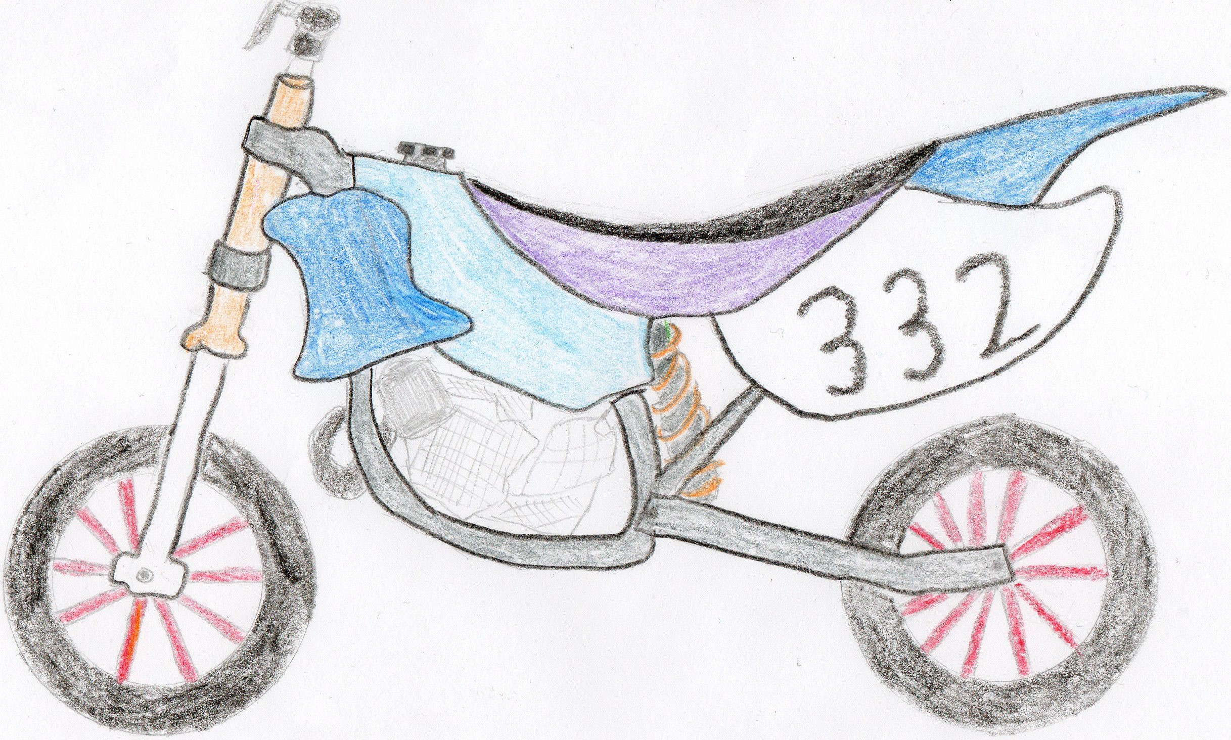 Easy dirt bike drawing images pictures becuo