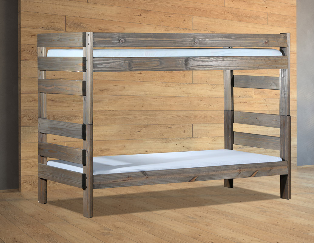 Stackable Twin Beds Pine Crafter American Made Quality Furniture Bunk Beds