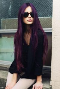 Dark Purple Black Hair Dye 2015-2016 | Fashion Trends 2016 ...