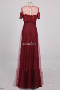 Dark Red Lace Prom Dresses 2015-2016 | Fashion Trends 2016 ...