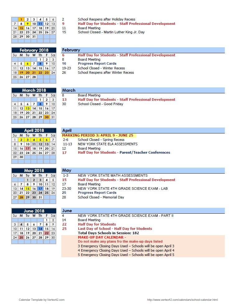 conversation calendars cris tovani academic calendar any year - assessment calendar template