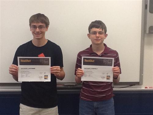 Certifications 14-15 \u2013 Student Achievements \u2013 Connellsville Area